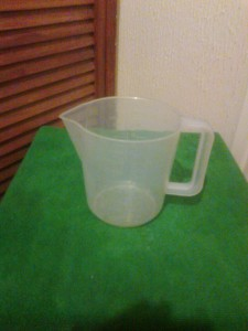 1 litre measuring jug.