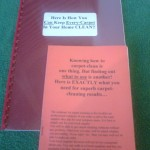 The Carpet Cleaning E Book Is An Essential Tool.