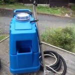 Heavy duty carpet cleaning machine.