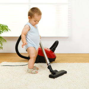 Baby vacuum cleaning