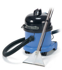 Machine for rinsing out carpet stain removers.
